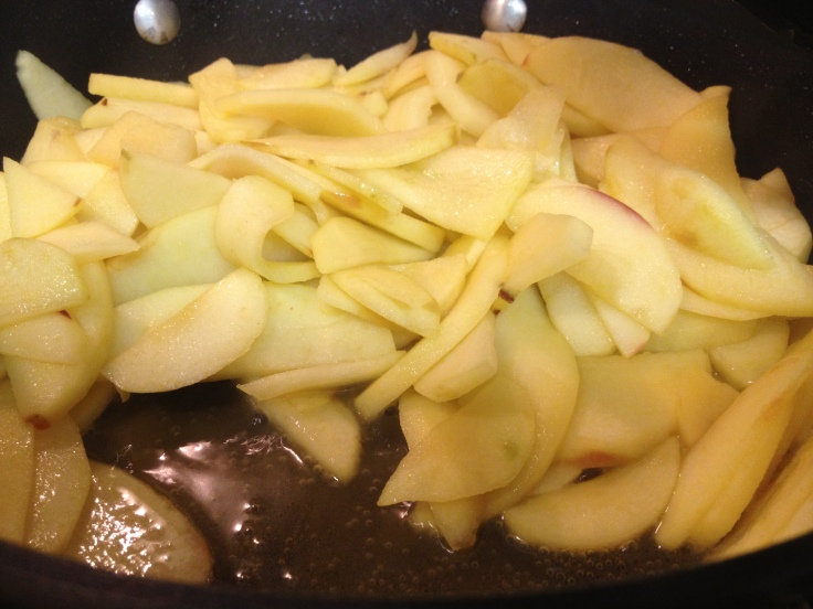 Apples Softened in Ghee