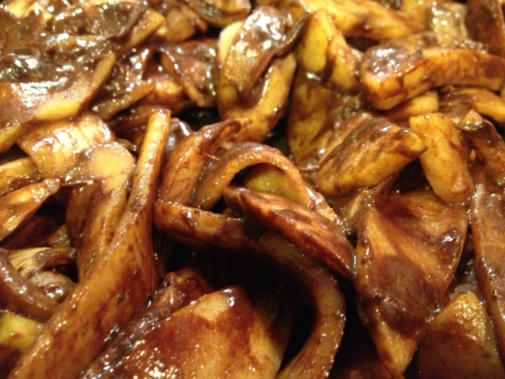 Balsamic Chocolate Cinnamon Apples